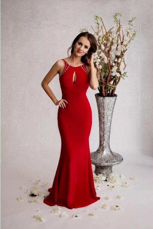 Rode jurk gala